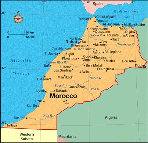 marokkó térkép Focus Travel Utazási Iroda   külföldi utak ,akciók, nyaralás  marokkó térkép